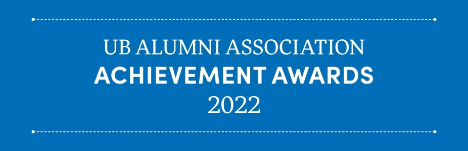 2020 UB Alumni Association Achievement Awards.