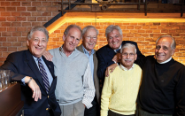 Michael Rosenberg, Ken Seglin, Bill Zelman, Alan Fields, Robert Wild and Steve Marks.