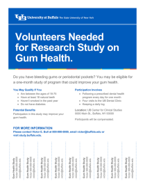 Research study flyer template with tear-offs (8.5x11).