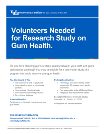 Research study flyer template.