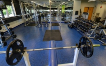 South Campus Fitness Area.