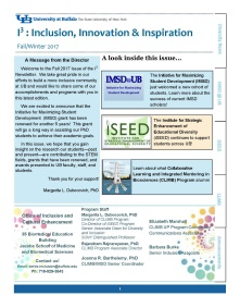 Inclusion Newsletter Fall 2017.