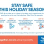 Stay safe this holiday season.