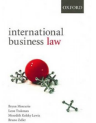 Cover for International Business Law.