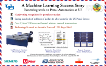 Poster titled A Machine Learning Success Story.