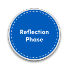 reflection phase icon.