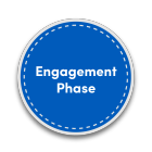 engagement phase icon.