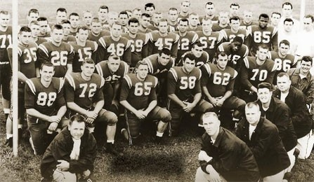 1958 Lambert Cup Team Football Scholarship