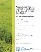 Document Screenshot: Adaptation strategies of smallholder rice farmers in the context of trade liberalization.