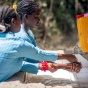 Female students wash their hands, UNICEF Ethopia, Ose, 2014, Unmodified.