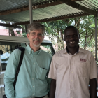 Dr. Jim Jensen with DRC partners in Uganda.