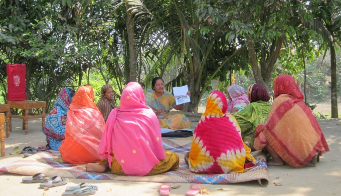 Women's Group on Maternal Health and Child Health | Image by Pavani K. Ram | University at Buffalo.