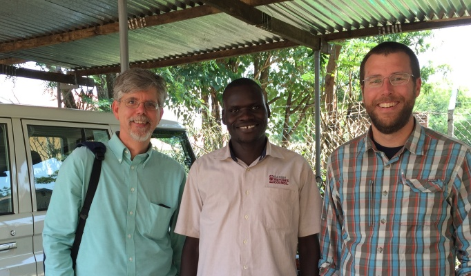 Jim Jensen, Chris Lowry in Uganda.