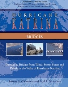 cover of mceer hurricane katrina bridges report
