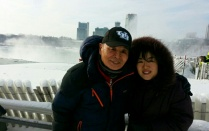 Sunha Kim and father