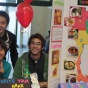Thai students' display table from IEW's World Bazaar.