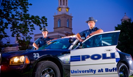 Campus police officers.