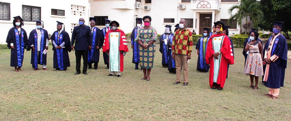 Twenty-two new graduates have completed the Leadership Empowerment Academy Program (LEAP), a global collaboration between the University of Cape Coast in Ghana and the UB School of Management's Center for Leadership and Organizational Effectiveness (CLOE).