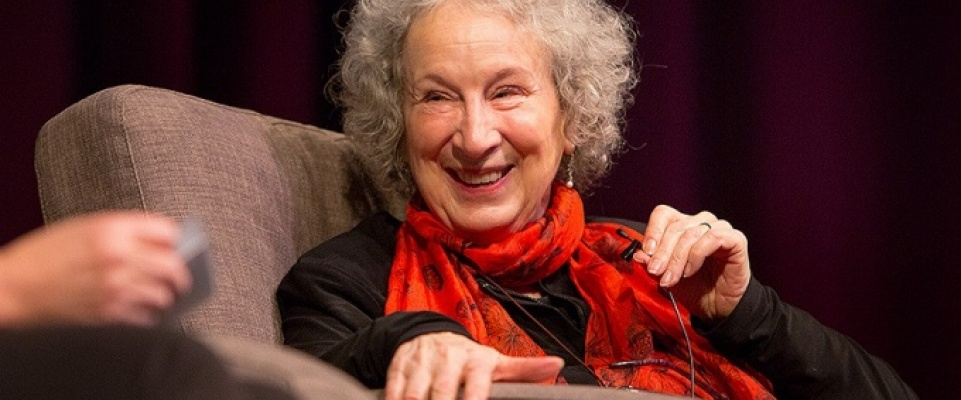 Humanities inform who we are, Atwood tells UB audience.