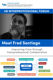 2018 Spring IP Forum: Meet Fred Santiago Poster