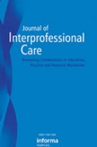 Journal of Interprofessional Care.