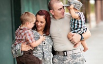 Picture of Army family