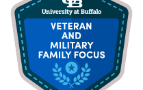 Digital Badge for veteran and military family microcredential .