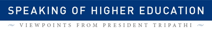 Speaking of Higher Education logo.