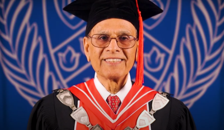 President Satish K. Tripathi Commencement Speech 2020.