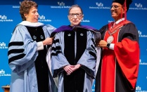 Justice Ginsburg receives SUNY Honorary Degree.
