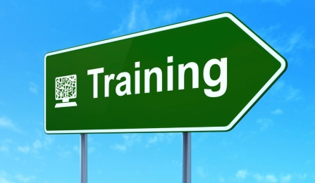 photo of sign that says training.