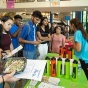 information fair in the student union.