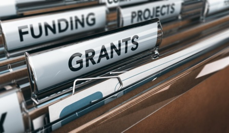 Files with the labels of grants, projects and funding.