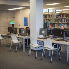 HSL Library computing site in Abbott Hall