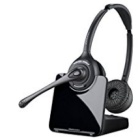 Plantronics CS-520 Over-the-head Binaural Wireless Headset.