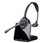 Plantronics CS-510 Monaural Wireless Headset.