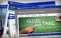 University Communications builds UB's reputation as a top-notch research university.