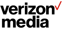 Verizon Media logo.